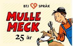 Beställ Mulle Meck på många språk!