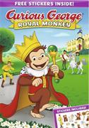 Curious George - Royal monkey